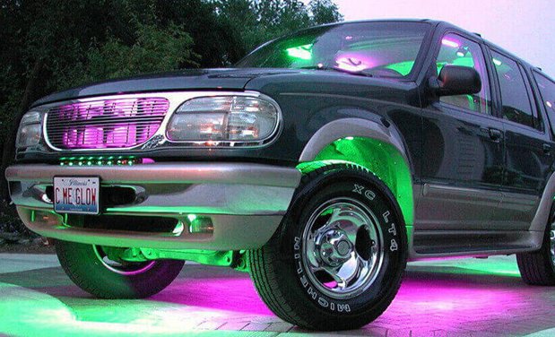 How LED Lights Can Improve Your Vehicle's Appearance
