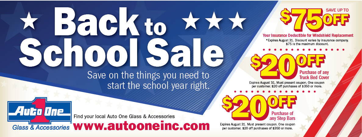 auto one back to school sale